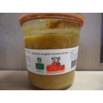 Veloute courgette / pomme...