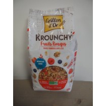 Krounchy fruits rouges - 500g